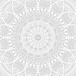 Papel de Parede Adesivo - Mandala mod.2