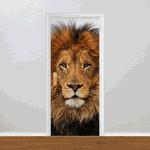 Adesivo para Porta - Leão