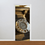Adesivo para Porta - Telefone Antigo