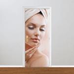 Adesivo para Porta - Estética e Beleza