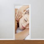 Adesivo para Porta - Massagem e Relaxamento