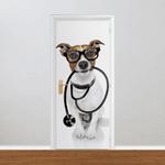 Adesivo para Porta - Médico Veterinário