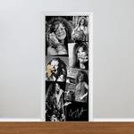 Adesivo para Porta - Janis Joplin