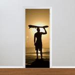 Adesivo para Porta - Surfista