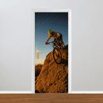 Adesivo para Porta - Mountain bike