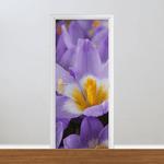 Adesivo para Porta - Florais Lirio Desabrochando