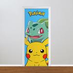Adesivo para Porta - Pokemon