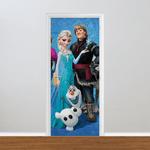 Adesivo para Porta - Frozen