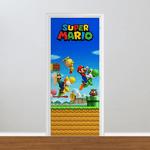 Adesivo para Porta - Super Mario