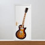 Adesivo para Porta - Guitarra Gibson Les Paul