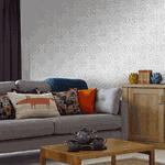 Papel de Parede Adesivo - Arabesco Floral