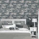 Papel de Parede Adesivo - Teens e Kids Camuflagem Pixel