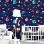 Papel de Parede Adesivo - Teens e Kids Astronauta