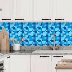 Pastilhas Resinadas - Variada Mosaico Azul