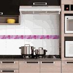 Pastilhas Resinadas - Variada Mosaico Roxo