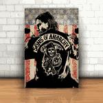 Placa Decorativa - Sons Of Anarchy