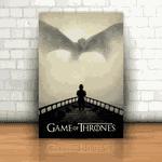 Placa Decorativa - Game of Thrones Tyrion e o Dragão