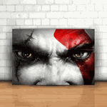 Placa Decorativa - God of War Kratos