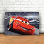Placa Decorativa - Cars Relâmpago Mcqueen