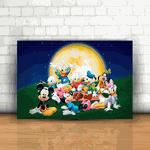 Placa Decorativa - Turma do Mickey