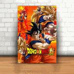 Placa Decorativa - Dragon Ball Goku Evoluções