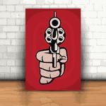 Placa Decorativa - Revolver 38
