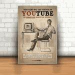 Placa Decorativa - Youtube