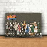 Placa Decorativa - Naruto Shippuden