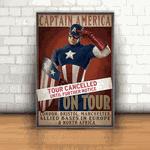Placa Decorativa - Capitão América