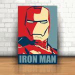 Placa Decorativa - Homem de Ferro