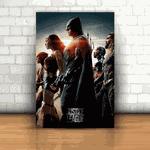 Placa Decorativa - Liga da Justiça