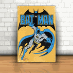 Placa Decorativa - Batman Quadrinhos