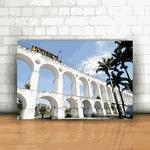 Placa Decorativa - Arcos da Lapa Rio de Janeiro