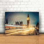 Placa Decorativa - Big Ben Londres
