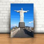 Placa Decorativa - Cristo Redentor Rio de Janeiro