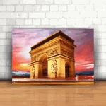 Placa Decorativa - Arco do Triunfo Paris