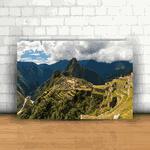 Placa Decorativa - Machu Picchu Peru