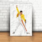Placa Decorativa - Freddie Mercury
