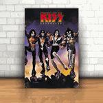 Placa Decorativa - Kiss Destroyer