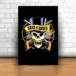 Placa Decorativa - Guns N' Roses