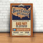 Placa Decorativa - Beer Camp