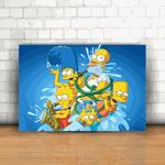 Placa Decorativa - Os Simpsons Mod. 03