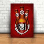 Placa Decorativa - Duff Garrafa