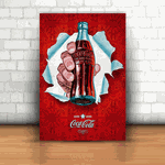 Placa Decorativa - Coca Cola 2005