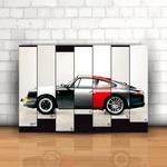 Placa Decorativa - Porsche História