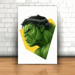 Placa Decorativa - Hulk Mod. 01