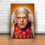 Placa Decorativa - De Volta Para o Futuro Emmett Brown