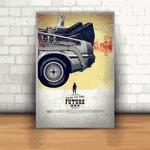 Placa Decorativa - De Volta Para o Futuro 3