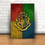 Placa Decorativa - Hogwarts Harry Potter