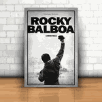 Placa Decorativa - Rocky Balboa